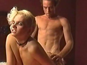 Stockings Wearing Chick Gets Rammed By Her Dude