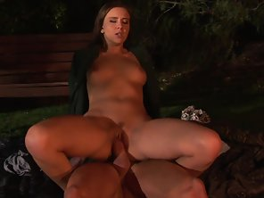 Alluring Girl Takes Big Dick Of Her Guy In Shaved Cunt