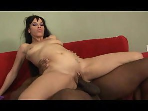 Skinny Babe Gets Pussy Pounded By Her Husband