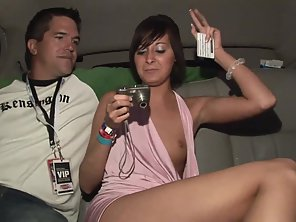 Naughty Beauty Rubbed Her Tight Vagina In Front Of Dude