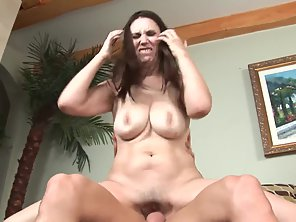 Busty Babe Gets Hammered By Her Dude