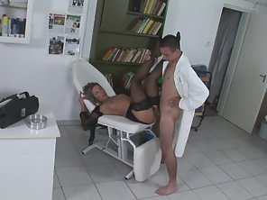 Blonde Got Hairy Cunt Shaved Then Railed By Handsome Dude