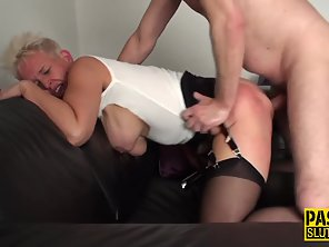 Blonde Mature Seduces Man Then Gets Rammed By Hard Dick