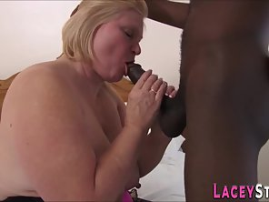 Blonde Mature Lacey Starr Gives Head Then Took Meaty Dick In Her Pussy